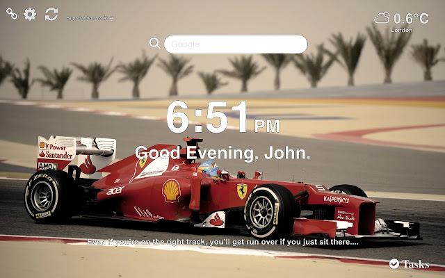 Formula 1 Wallpapers New Tab Themes