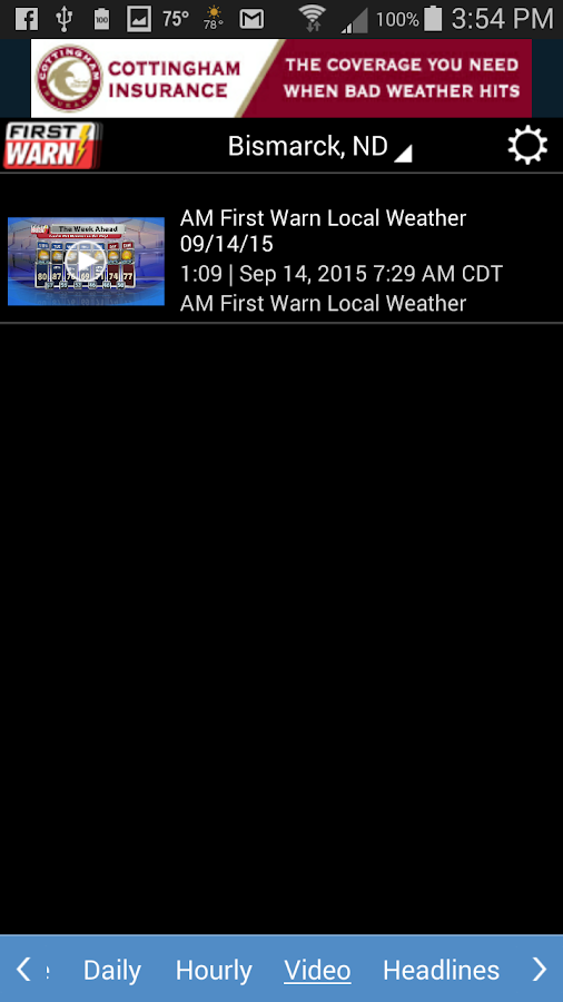 KFYR-TV Weather- screenshot