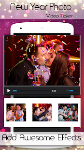 2018 Video maker New year photos - náhled