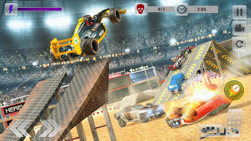 Formula Car Crash Demolition Stunt Arena 1.2 screenshots 1