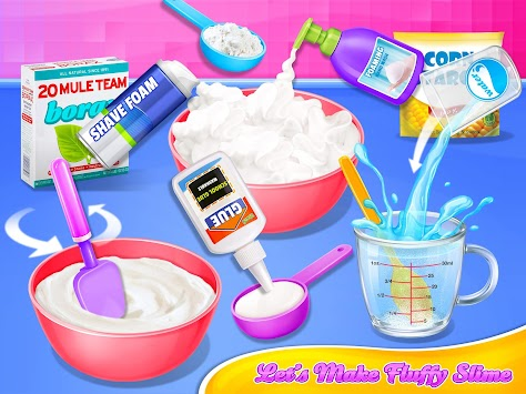 Crazy Fluffy Slime Maker apk screenshot