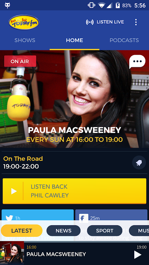 Today FM- screenshot