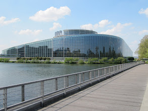 Photo: Day 27 - This Impressive Building is the other side of  European Parliament Building in Strasbourg