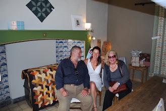 Photo: Stefaan en Livia Canestraro in het Atelier