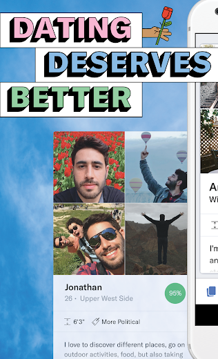 Screenshot 0 for OkCupid's Android app'