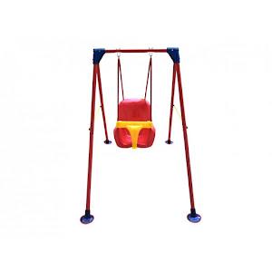 Leagan cu suport metalic pentru copii, 120x90x160 cm
