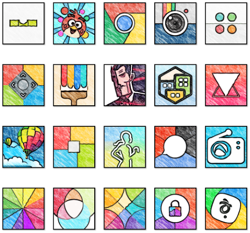 WhatsArt - Icon Pack  screenshots 1