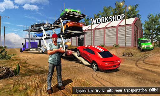 OffRoad USA Truck Car Transport Simulator for PC