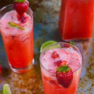 Strawberry Coconut Limeade.