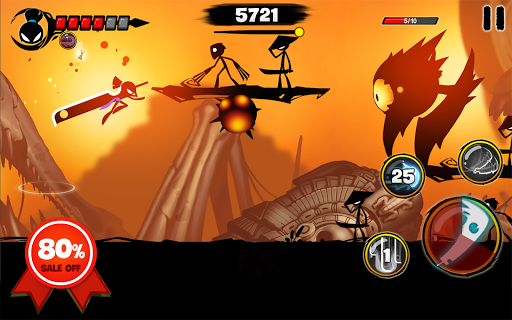 Stickman Revenge 3: League of Heroes  24