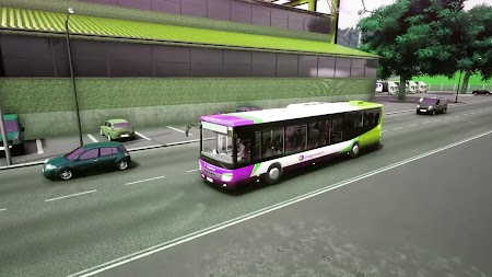 City Bus Driving offroad Uphill Bus simulator Game APK screenshot thumbnail 4