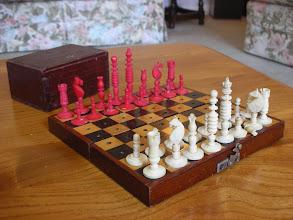 Photo: CH164: German; C19th; bone - King=2in
