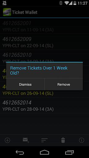 Railway Ticket Wallet screenshot 4