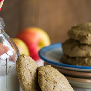 Oil-free Apple Butter Cookies.