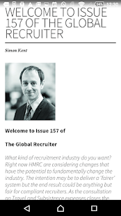 The Global Recruiter- screenshot thumbnail