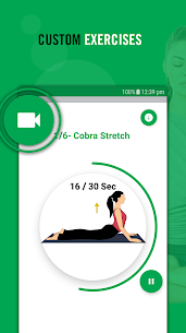 Yoga poses for stress relief: Stretching exercises 3