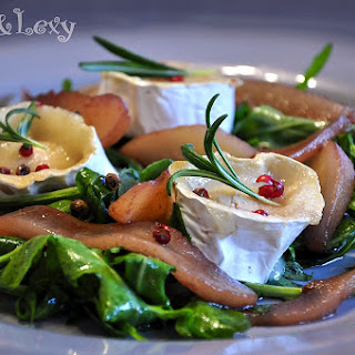 Pear and Rocket Salad with Goats Cheese Recipe