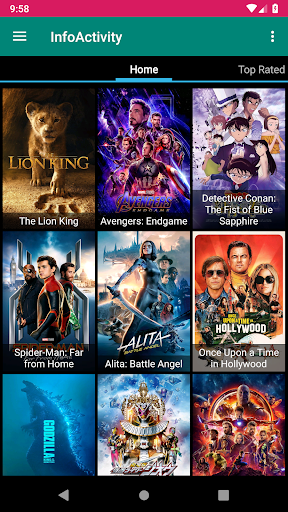 Movies Online Free & Movie Box App Report on Mobile Action
