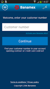 Banamex Mobile- screenshot thumbnail