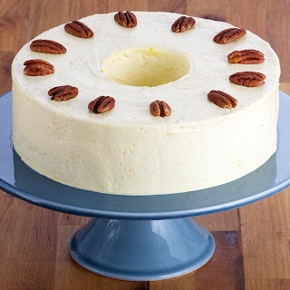 Pecan Torte with French Buttercream