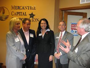 Photo: SBA 504 Expert Chris Hurn with Paul Partyka, Karen Diebel, and Sandy Adams www.504Experts.com