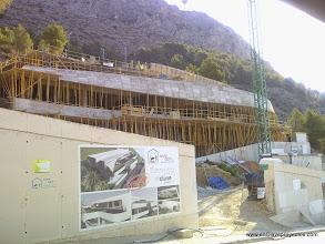 Photo: Fase de estructura. Vista general.
