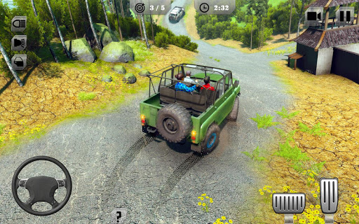 Offroad Jeep Driving & Racing - screenshot