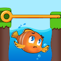Fish Pin - Water Puzzle & Pull Pin Puzzle icon