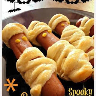 Spooky Mummy Hot Dogs