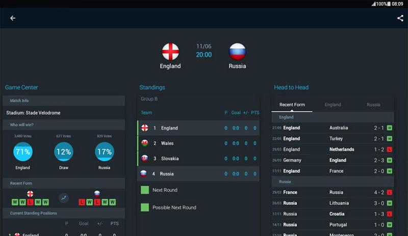 365Scores - Live Sports Score, News & Highlights Screenshot 8