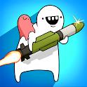 Missile Dude RPG: Offline tap tap hero icon