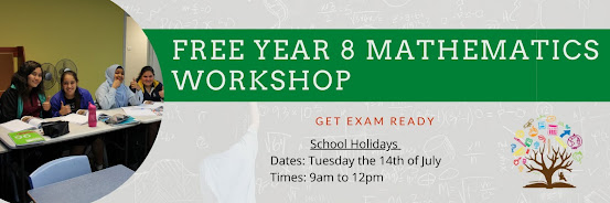 FREE Year 8 Maths Workshop