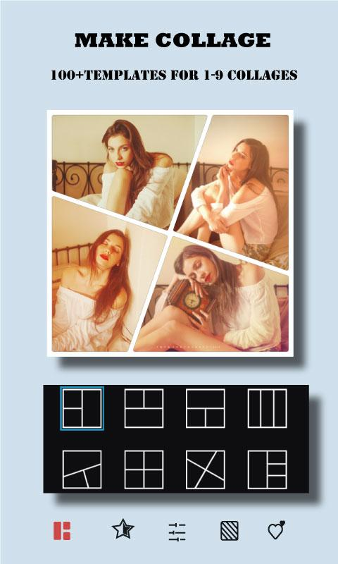 Screenshots of Square Size  -  Collage Maker Photo Editor for iPhone