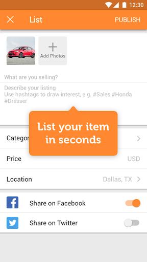玩免費購物APP|下載5miles: Local Buy & Sell Stuff app不用錢|硬是要APP