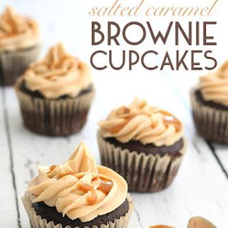 Salted Caramel Brownie Cupcakes Recipe