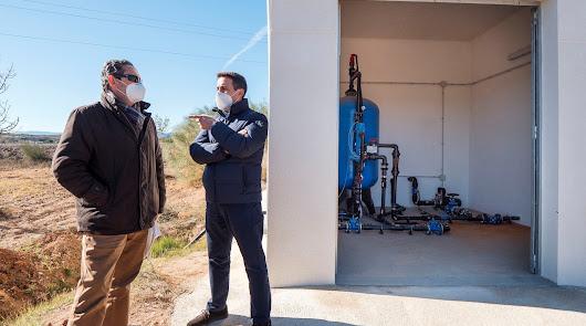 Olula del Río recibe 150.000 euros para mejorar su redes de agua