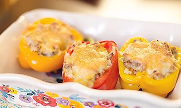 Low Carb Stuffed Peppers Recipe