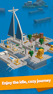 Idle Arks: Build at Sea MOD APK 2.1.5 [Unlimited Wood + Diamonds] 6