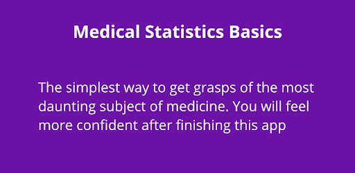 Learn statistics in a very simple way, not going into the complicated details.