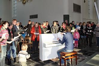 Photo: . . . een fraai lied toe (geschreven door Kees van der Zwaard) . . .