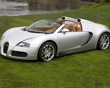 Jigsaw Puzzles Car Buggati Concept Game - náhled