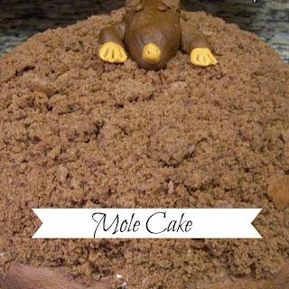 German Mole Cake / Maulwurf Kuchen