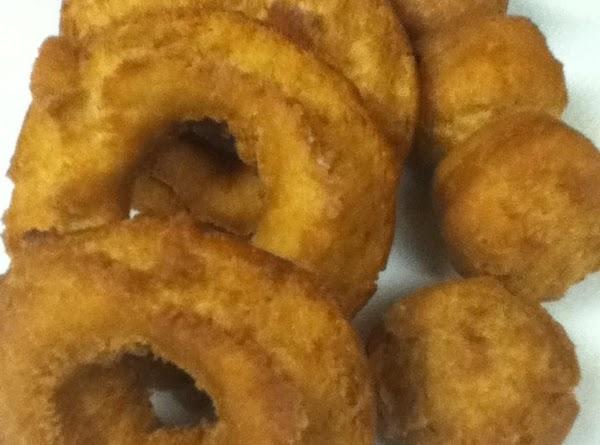Buttermilk Cake Doughnuts Recipe