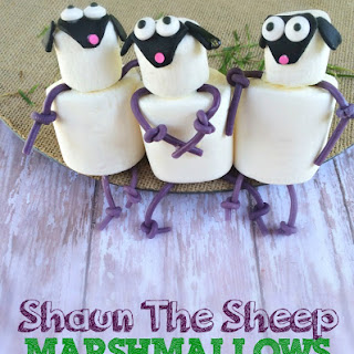 Shaun The Sheep Marshmallows