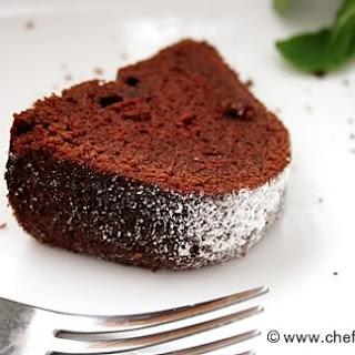 3. Chocolate Pound Cake with Tofu