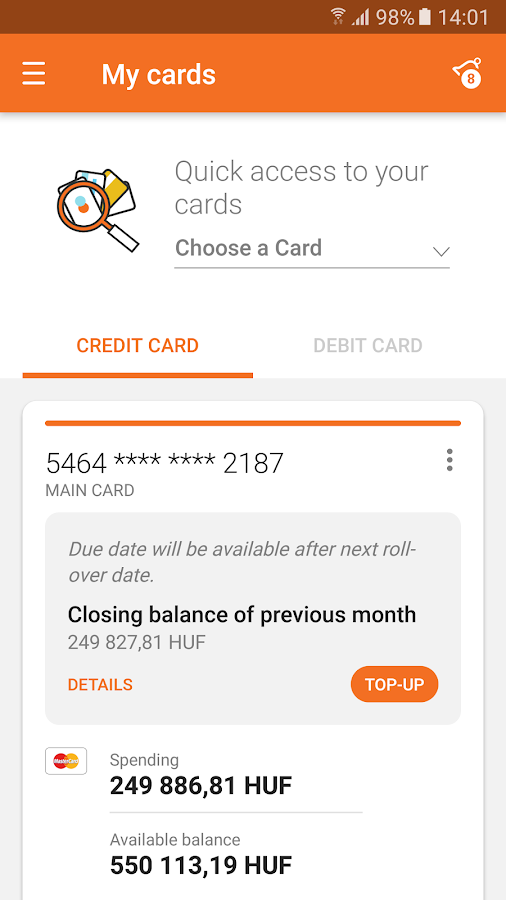 CIB Bank- screenshot