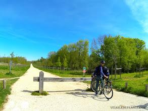 """Photo: [FR] La voie verte des Mortemets [EN] The greenway """"voie verte des Mortemets"""""""