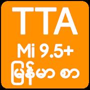TTA MI Myanmar Font 9.5 to 11