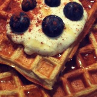 Healthy Waffle Recipe!