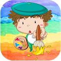 Kids Books Color And Draw icon